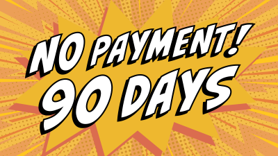 Auto Loan 90 Days No Payment